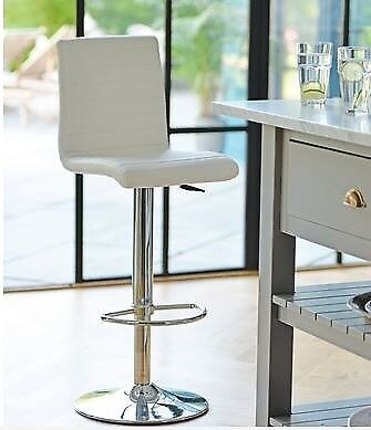 Admirable Kitchen Bar Stools X 3 Off White From Dwell Furniture In Bridge Of Don Aberdeen Gumtree Customarchery Wood Chair Design Ideas Customarcherynet