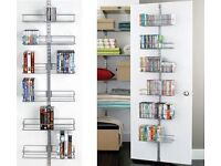 Elfa Overdoor Storage Solution in White