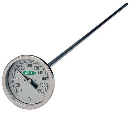 VEE GEE 82200-36 Compost Dial Thermometer