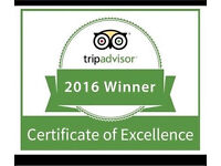 Waitress Award Winning Gastro Pub - live out