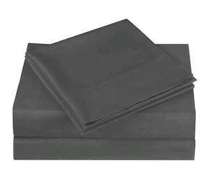 Mainstays Microfiber Solid Sheet Set  Double