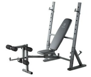 BENCH PRESS OLYMPIQUE AJUSTABLE NEUF