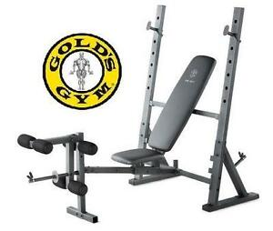 NEW GOLDS GYM XR 10.1 FITNESS WORKOUT BENCH EXERCISE EQUIPMENT 104162447