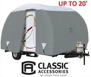 NEW CLASSIC ACCESSORIES 20' COVER TRAILER COVER    POLYPRO III 107539706