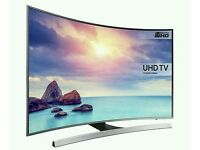 """Samsung 48"""" UHD 4K CURVED SMART WI-FI TV MINT CONDITION FULLY WORKING UE48JU6500"""