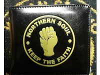 Brand new Northern Soul KTF wallet, made by Warrior, Skinheads Mods Scooter Boy Lambretta Vespa
