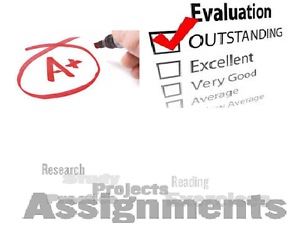 Best Quality Projects - Assignments/Essays Help Concord Canada Bay Area Preview