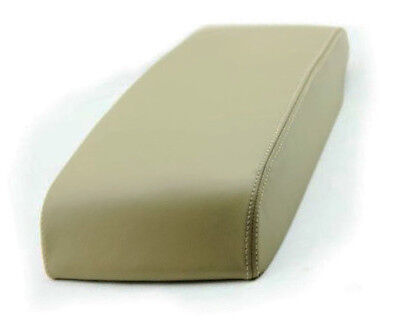 05 Toy - Fits 05-10 Toyota Avalon Beige Leather Synthetic Center Console Armrest Cover