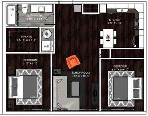 Appartements neufs à louer à Ahuntsic, près du métro!