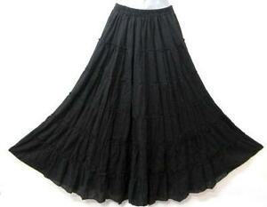 Black Broomstick Skirt 37