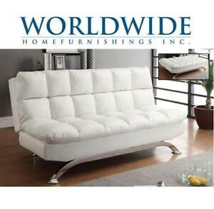 NEW* WORLDWIDE CONVERTIBLE SOFA - 131588517 - SOFA BED WHITE SUSSEX