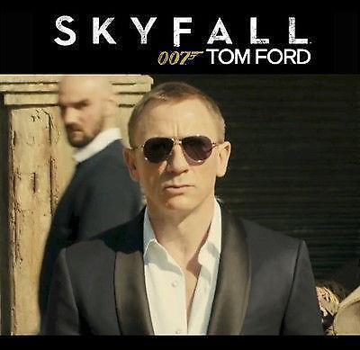 9eec2288db JAMES BOND SKYFALL Tom Ford MARKO TF 144 14D 0144 Gunmetal Polarized  Sunglasses