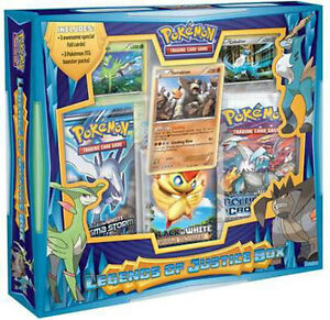 POKEMON LEGENDS OF JUSTICE COLLECTION BOX - 3 BOOSTER PACKS + 3 FOIL CARDS