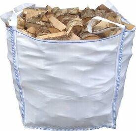 1 cubic meter bag of firewood