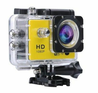 Full HD 1080P Sports Action Camera (with WiFi) - 30M Waterproof