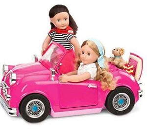 Amazing Our Generation Dolls Car with real radio
