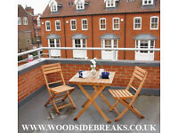 Woodside Breaks Self Catering accomodation in Cromer North Norfolk centrally located to the town.