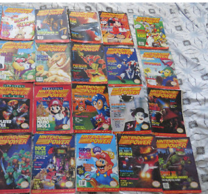 Huge Collection of Rare Vintage Nintendo Power Magazines-20