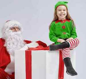 I want: SMALL Elf, Adult Mrs Claus suit(s) / costumes