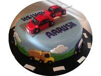 Novelty Childrens Birthday Cakes - All Occasions - Disney - TV Theme - Baby - Wedding - Football