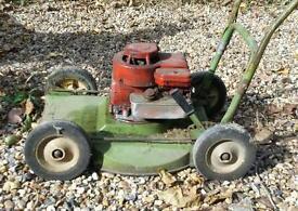 Hayter roughcut lawnmower