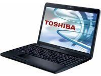 """toshiba sattellite c660-2kj/15.6""""/4gb /500GB HDD/WIN 7"""