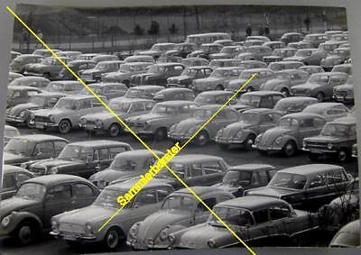Unbekannter Fotokünstler: Autokultur um 1965 (18521)