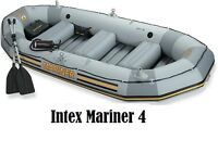 Intex Mariner 4 inflatable boat bateau gonflable