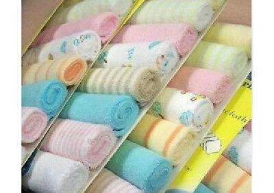 8pcs New Soft Baby Kids Children Infant Boy Girl Bath Towel Washcloth Wipe