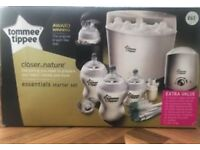 Tommee Tippee starter set bottle steriliser