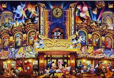 Disney Dream Theatre B/W Cross Stitch Chart