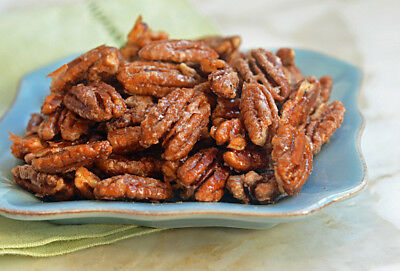 NEW Honey Glazed Pecans 100% All Natural Roasted Candied Pecans FRESH! 500gr (Pecan Sweet Honey)