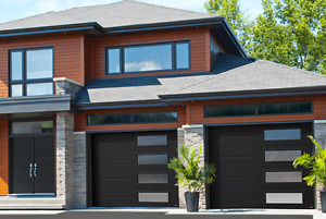 BEAUTIFUL Contemporary garage with etched glass BEST PRICE
