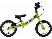 Zoom green balance bike
