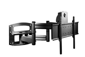 (DI18) New,Peerless Full-Motion Plus Wall Mount With Vertical Adjustment PLAV70-UNL  (42-95, Black) PICK UP ONLY!!