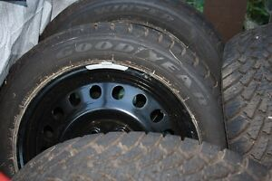 4 Goodyear Nordic on winter rims (NEW) Campbell River Comox Valley Area image 1
