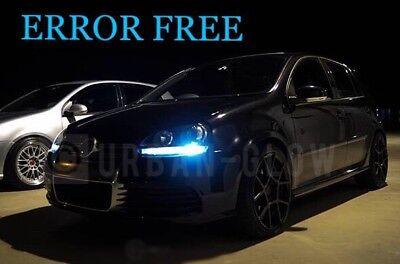 VW Scirocco Xenon Ice White DEL Side Light Bulbs Canbus Error Free