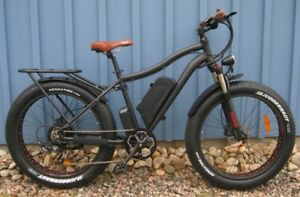 New Fat Ebike  48V500W  fully loaded  +  free spare battery