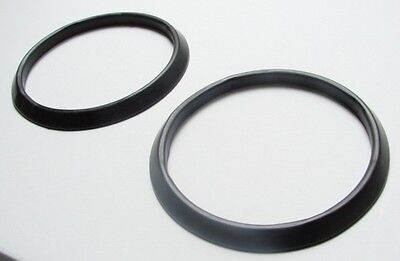 Fiat 500 D / F/ L / R Set (2 ) Rubber seals for  Headlamp  rim New