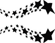 Airbrush Stencils Stars