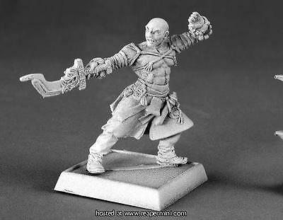 Reaper Miniature Dark Haven Legend Sajan Iconic Monk Rpr 60016