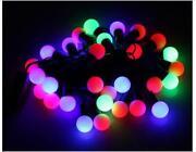 Outdoor Christmas Ball Lights