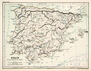 Antique Maps Spain