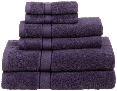 lavender bath towels