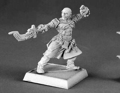 Sajan Iconic Monk Reaper Miniatures Pathfinder Fighter Assassin Rogue Melee