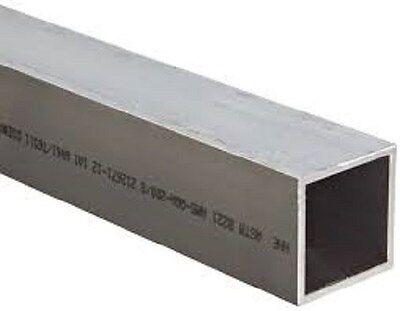 Aluminum Square Tubing 2 X 2 X .120 11-ga X 48