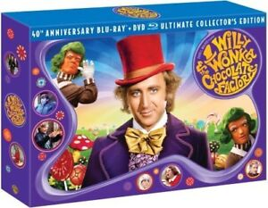 SOLD Willy Wonka Anniversary DVD collection
