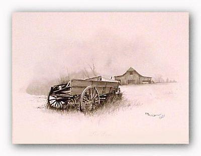 PASTORAL ART PRINT Grist Mill Howard Burger