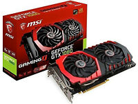 MSI GTX 1060 GAMING X 6 GB with receipt and warranty