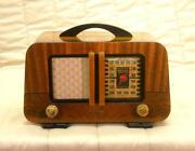 Restored Wood Radio
